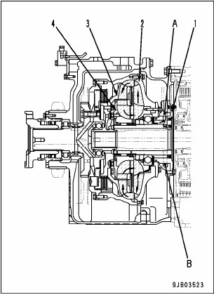 Toque converter hd 785-7