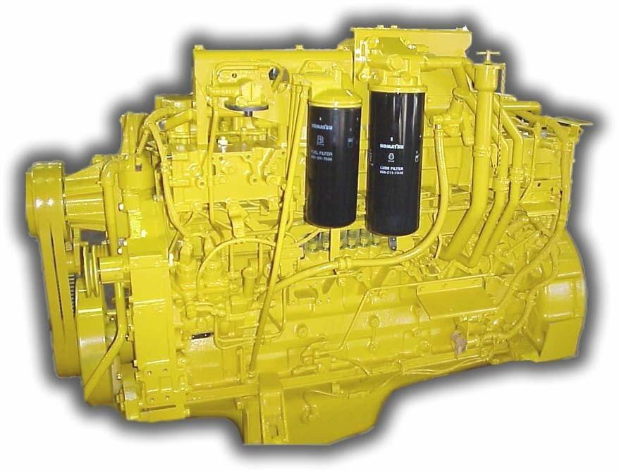 engine komatsu