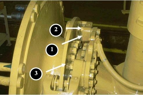 inspeksi front brake 777D