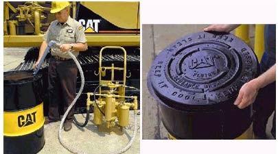 penyimpanan dan pemindahan oli