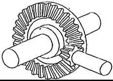 plain bevel gear