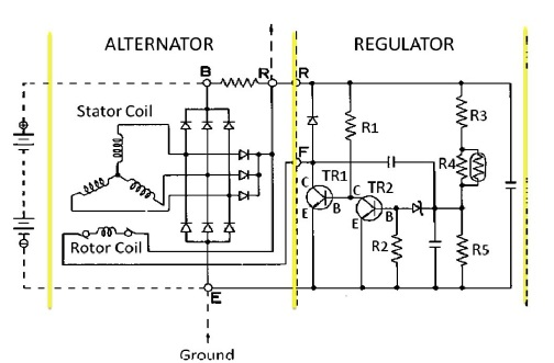 semikonduktor regulator