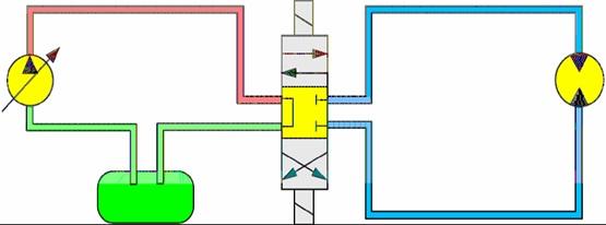 steering track motor