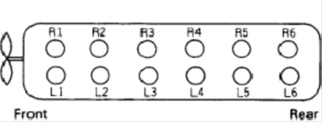 adjusting valve clearence 6