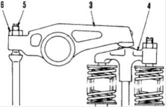 adjusting valve clearence 7