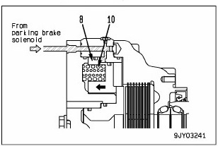 front brake 5