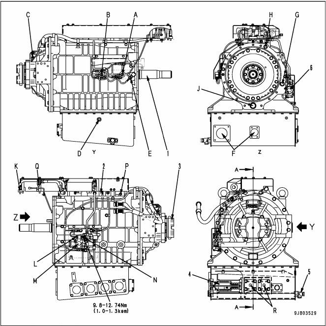 transmisi hd 785 -7