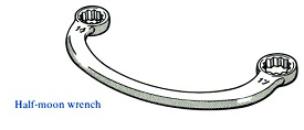 half moon wrench