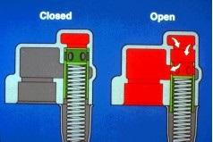 oil pump relief valve 2