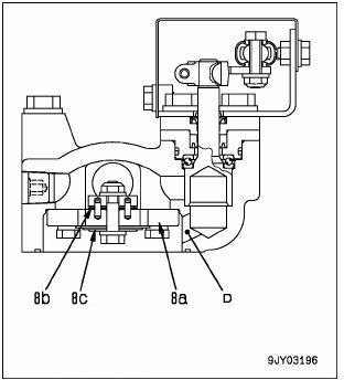 cara kerja suspensi depan hd 785-7 3