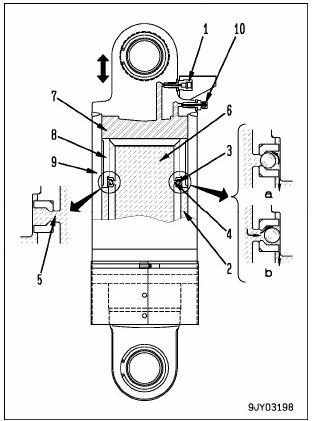 standar value rear suspension hd 785-7 2