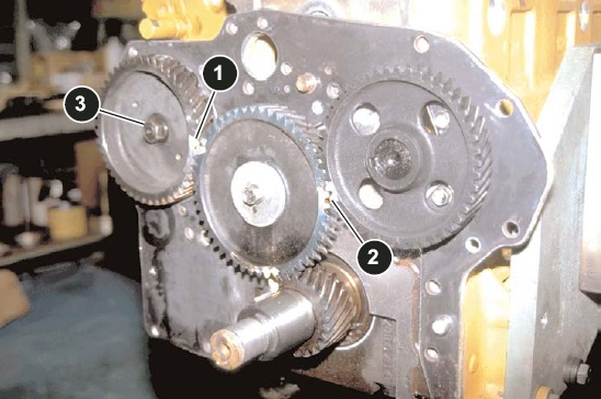 timing gear 320D