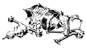 Front dead axle